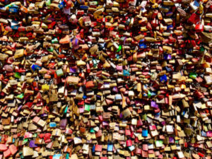 Hohenzollern Bridge-Locks of Love-Cologne-Germany