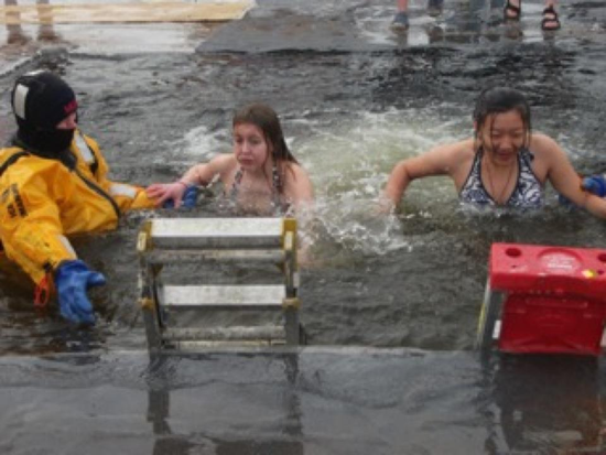 Jumping In A Freezing Lake: Minnesota Insanity for a Good Cause