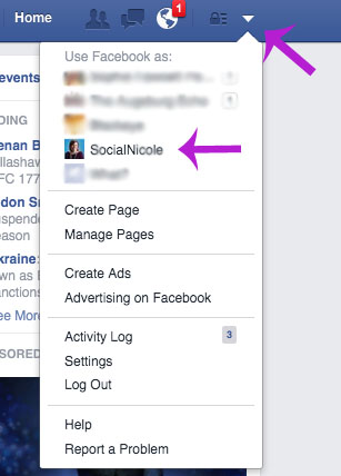 use facebook as your business