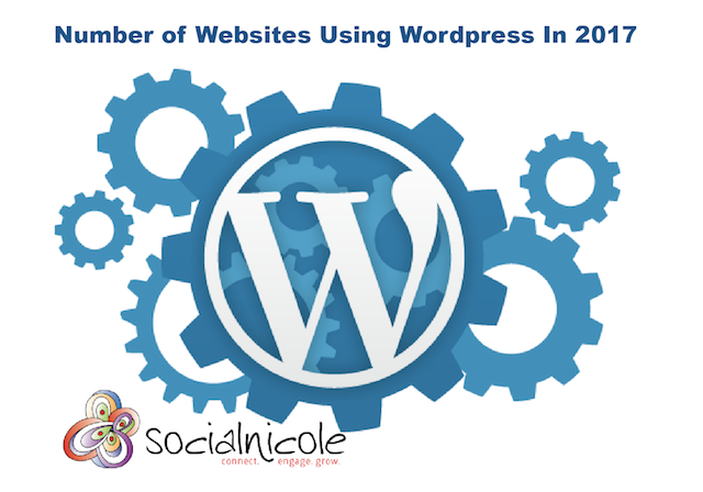 Number of Websites Using WordPress In 2017
