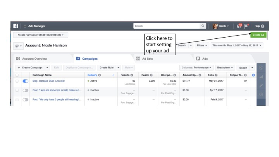 How To: A Guide To Setting Up A Facebook Ad