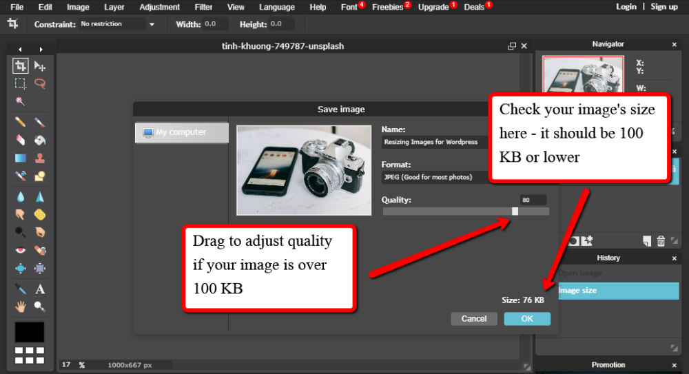 Quality Resizing Images for WordPress