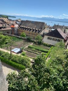 Gardens-Chateau-de-Nyon-Switzerland